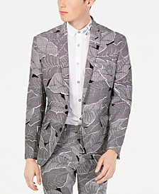 I.N.C. Men's Makani Slim-Fit Linen Blazer, Created for Macy's