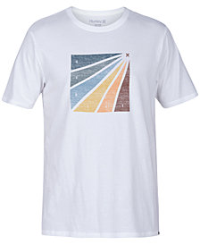 Hurley Men's Prism Burt Enzyme Graphic T-Shirt