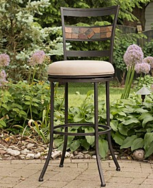 Indoor / Outdoor Henning Swivel Counter Stool