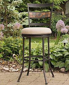 Indoor / Outdoor Henning Swivel Counter Stool