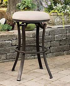 Indoor / Outdoor Bryce Backless Swivel Bar Stool