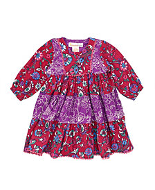 Masala Baby Baby Girl's Gypsy Rose Dress