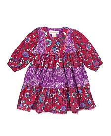 Masala Baby Baby Girl's Gypsy Rose Dress