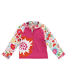 Masala Baby Girl's Rashguard Long Sleeves