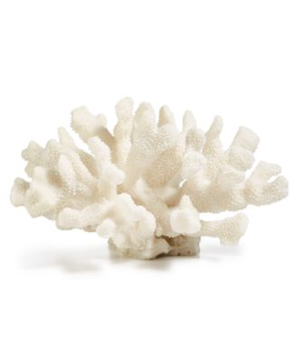 CLOSEOUT! Coastal White Resin Coral, Created for Macy's