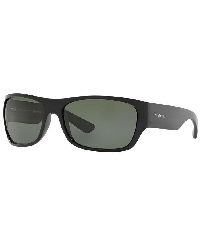 Sunglass Hut Collection - Polarized Sunglasses, HU2013 63