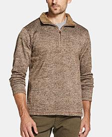 Weatherproof Vintage Men's 1/4 Zip Sweater Pullover