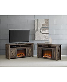 """Winthrop Electric Fireplace Tv Console For Tvs Up To 50"""""""