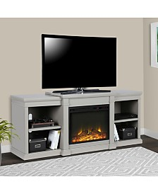 Ameriwood Home Blaine 70 Inch Electric Fireplace Tv Stand