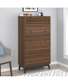 Ameriwood Home Orchard Point 5 Drawer Dresser