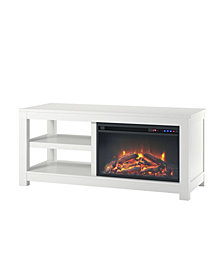 Ameriwood Home Ira Electric Fireplace TV Stand