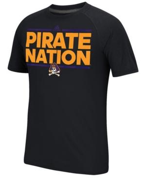image of adidas Men-s East Carolina Pirates Sideline Say It Loud Raglan T-Shirt