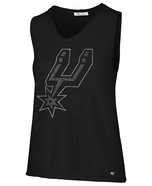 '47 Brand Women's San Antonio Spurs Letter Tank