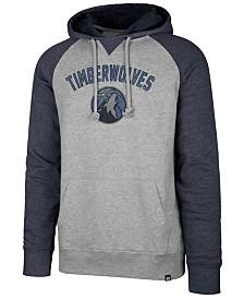 '47 Brand Men's Minnesota Timberwolves Match Raglan Hoodie