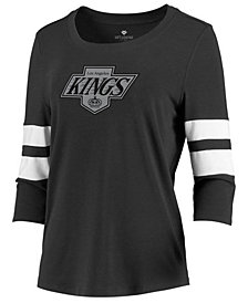 Majestic Women's Los Angeles Kings Let Loose Raglan T-Shirt