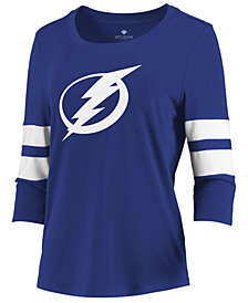 Majestic Women's Tampa Bay Lightning Let Loose Raglan T-Shirt
