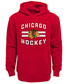 Outerstuff Chicago Blackhawks Goal Maker Hoodie, Big Boys (8-20)
