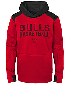 Outerstuff Chicago Bulls Off The Court Hoodie, Big Boys (8-20)