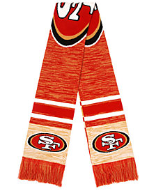 Forever Collectibles San Francisco 49ers Knit Color Blend Big Logo Scarf