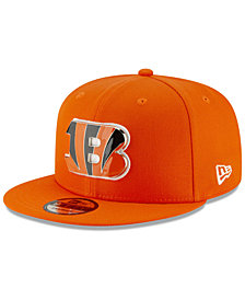 New Era Cincinnati Bengals Metal Thread 9FIFTY Snapback Cap
