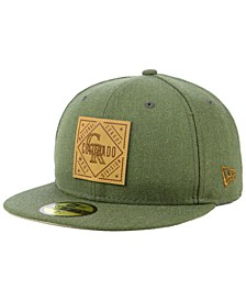 Colorado Rockies Leather Patch 59FIFTY-FITTED Cap
