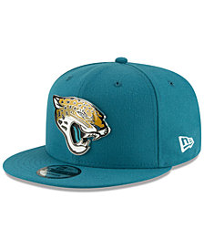 New Era Jacksonville Jaguars Metal Thread 9FIFTY Snapback Cap