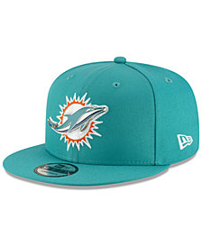 New Era Miami Dolphins Metal Thread 9FIFTY Snapback Cap