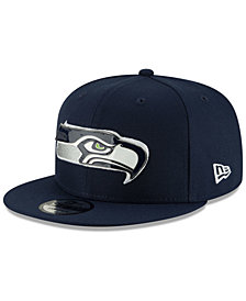 New Era Seattle Seahawks Metal Thread 9FIFTY Snapback Cap