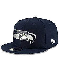 New Era Seattle Seahawks Metal Thread 9FIFTY Snapback Cap