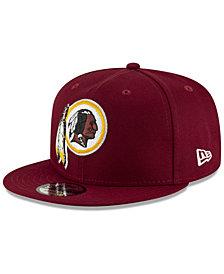 New Era Washington Redskins Metal Thread 9FIFTY Snapback Cap