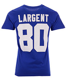 Majestic Men's Steve Largent Seattle Seahawks Hall of Fame Eligible Receiver Triple Peak T-Shirt