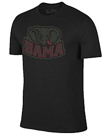 Champion Men's Alabama Crimson Tide Black Out Dual Blend T-Shirt