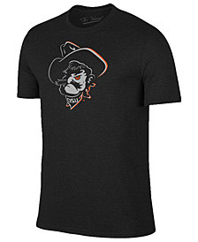 Champion Men's Oklahoma State Cowboys Black Out Dual Blend T-Shirt