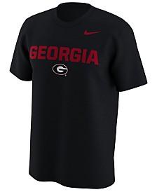 Nike Men's Georgia Bulldogs Legend Logo Lockup T-Shirt