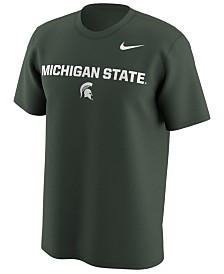 Nike Men's Michigan State Spartans Legend Logo Lockup T-Shirt