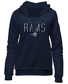5th & Ocean Women's Los Angeles Rams Fleece Pullover Hoodie