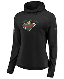 Women's Minnesota Wild Authentic Pro Rinkside Hoodie