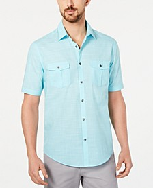 Men's Textured Shirt & Stretch Color Jeans, Created for Macy's