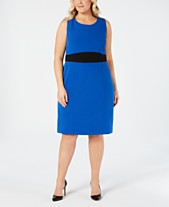 3d9eed696e37 Kasper Plus Size Sheath Dress