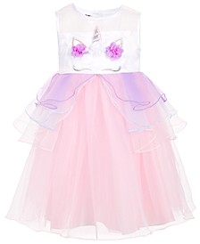 Toddler Girls Unicorn Dress