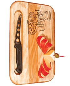 Branded Cheese Board With Knife