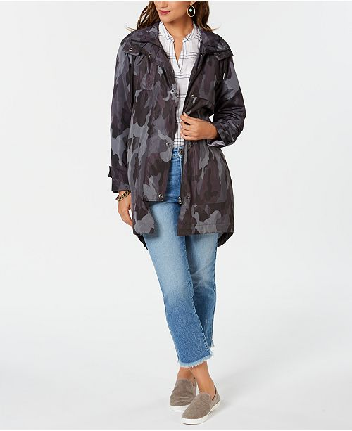 7f55f1d2d49b7 ... Style   Co Petite Camo-Print Hooded Jacket