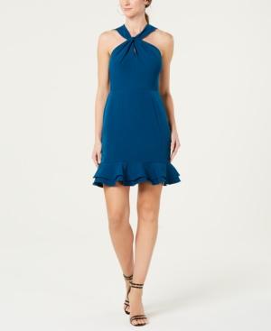 Image of 19 Cooper Open Lace-Back Sheath Dress