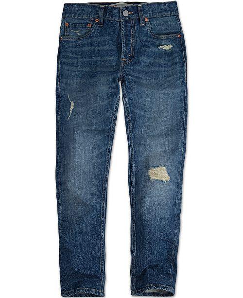 d267272d7 Levi's Big Boys Skinny Distressed Jeans; Levi's Big Boys Skinny Distressed  ...