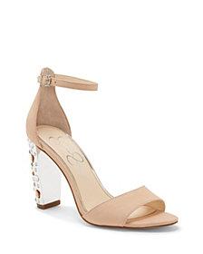 Jessica Simpson Verena Studded Heel Dress Sandals