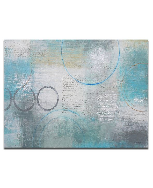 Ready2HangArt 'Subtle Change' Abstract Canvas Wall Art, 20x30""