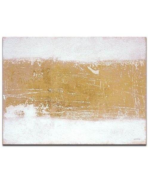 "Ready2HangArt 'Glistening Light I' Abstract Canvas Wall Art, 20x30"""