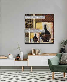 'Ancient Vase I' Abstract Canvas Wall Art Collection