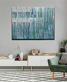 'Serenity' Abstract Canvas Wall Art Collection