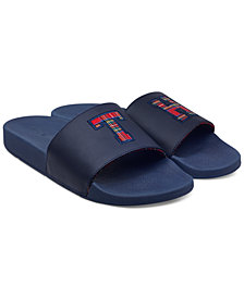Tommy Hilfiger Men's Tartan Slides
